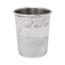 Vintage Towle Sterling Silver Thimble Jigger | The Hour