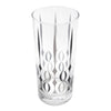 The Modern Home Bar Red Poppy Collins Glasses Glass Top | The Hour Shop