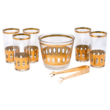 Vintage Culver Antigua Ice Bucket Set Top | The Hour