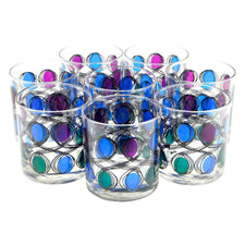 Berta Green Blue Purple Rocks Glasses