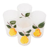 Vintage Mid Century Hand Painted Pears Glasses Top | The Hour Shop