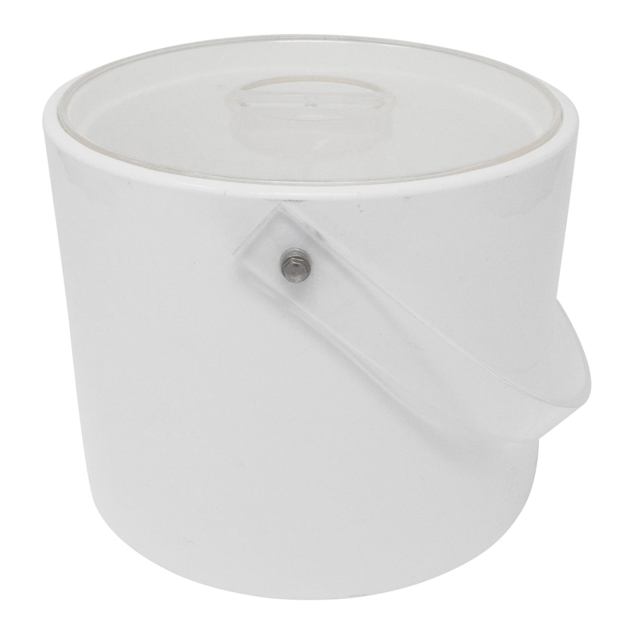 Vintage Georges Briard White Ice Bucket | The Hour Shop