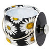 Vintage Kraftware Black Yellow White Daisy Ice Bucket | The Hour