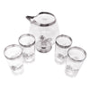 Vintage Georges Briard Silver Lions Cocktail Pitcher Set Top | The Hour Shop