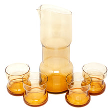 Amber MCM Cocktail Pitcher Set