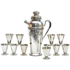 Vintage Apollo Silverplate  Cocktail Shaker Set, The Hour Shop