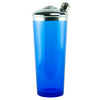 Cobalt Blue Glass Dome Top Cocktail Shaker | The Hour Vintage