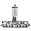 Vintage Chase Gaiety Chrome Shaker Set Front | The Hour Shop