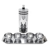 Vintage Chase Gaiety Chrome Shaker Set | The Hour Shop