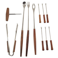 The Hour Shop, Vintage Wood Japanese Bar Tool Set