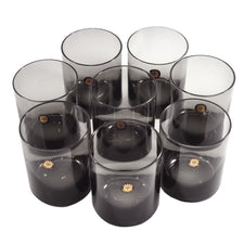 Sasaki Smoke Glass Rocks Glasses