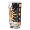 Vintage Fred Press Black and Gold Celestial Collins Glasses Pattern | The Hour Shop