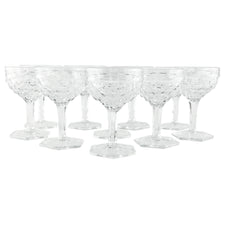 Vintage Fostoria Cocktail Coupe Glasses, The Hour Shop