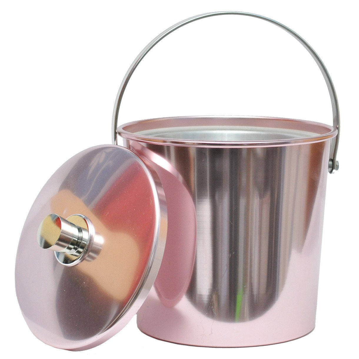 Vintage Regalware Pink Aluminum Ice Bucket, The Hour Shop