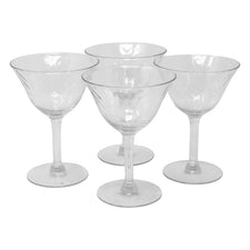 Vintage Draping Iridescent Cocktail Glasses | The Hour Shop