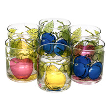 Georges Briard Fruit Rocks Glasses