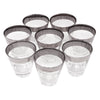 Vintage Mercury Band Single Old Fashioned Glasses top | The Hour Shop