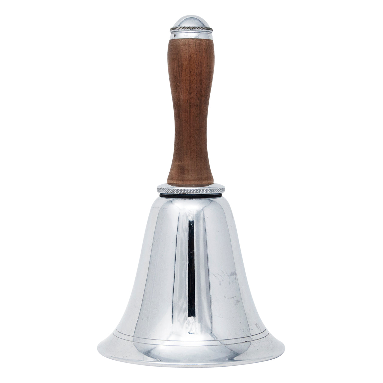 Vintage Chrome Bell Walnut Handle Cocktail Shaker | The Hour Shop