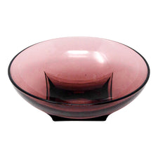 Vintage Small Round Amethyst Glass Bowl | The Hour