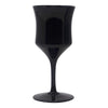 Vintage American Manor Small Black Wine Glasses | The Hour