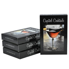 The Hour Shop, Capitol Cocktails Recipe Cards