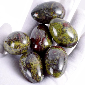 Dragon Bloodstone Yoni Egg