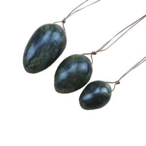 Mystique Jade Yoni Eggs Set of 3