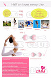 1 pc Stylish Kegel Trainer Vibrating Ben Wa Ball