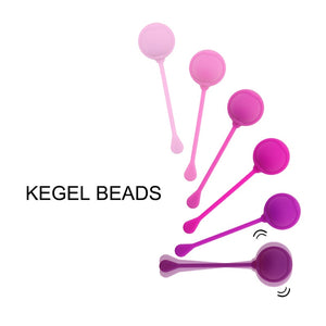 6 Steps to Pleasure Paradise Kegel Exerciser Kit