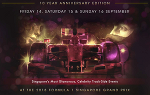 EGO Brand International Featured at Formula 1 Racing Tour in Singapore (September 14th - 16th)