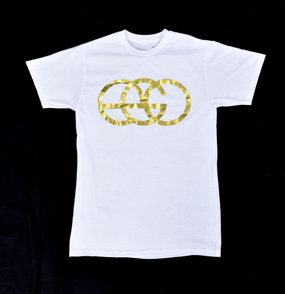 White EGO Hip Hop T-Shirts