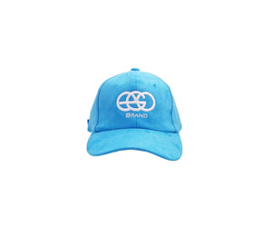 Light Blue EGO Brand Suede Hat