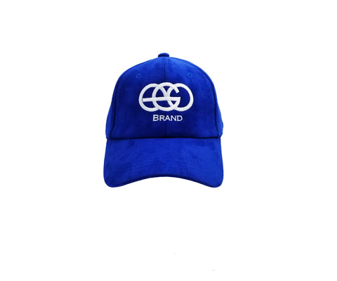 Navy Blue EGO Brand Suede Adjustable Hat