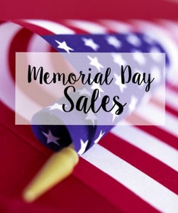 Memorial Day Weekend sales at The EGO Lifestyle