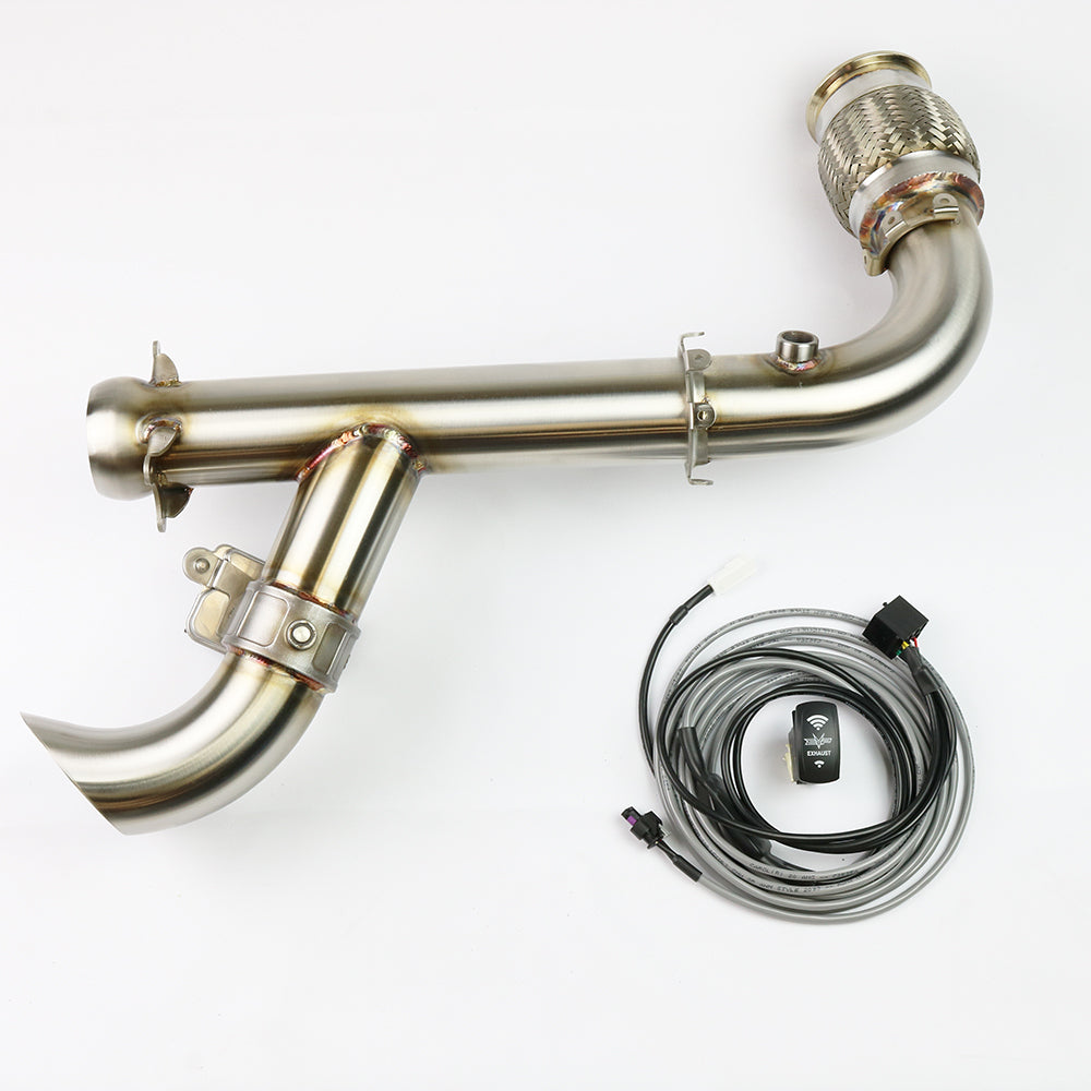 EVOLUTION POWERSPORTS X3 SHOCKER ELECTRIC SIDE DUMP RACE BYPASS PIPE