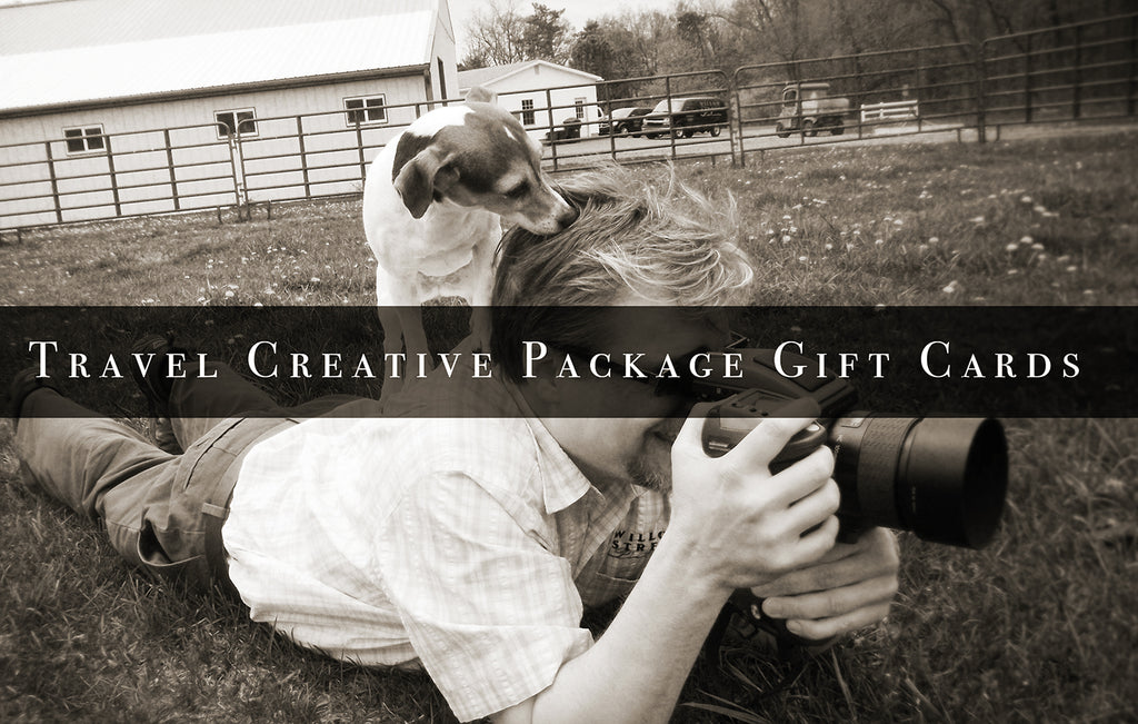 Travel Creative Package Gift Card