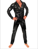 Variety of colors Loose style Latex catsuits for men