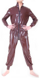 Variety of colors Wide Latex catsuits for men