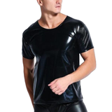 Handsome Pitch Black Latex Tee