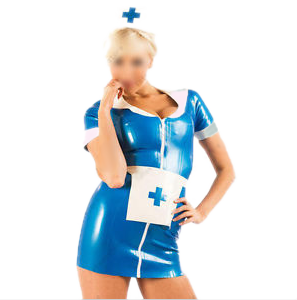 Do-not-be-blue Hot Nurse costume