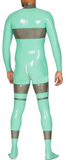 Multi-color Doctor Latex catsuits for men