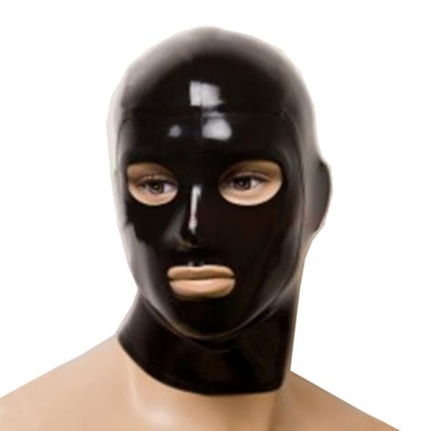 Peek-a-boo Unisex Latex Hoods
