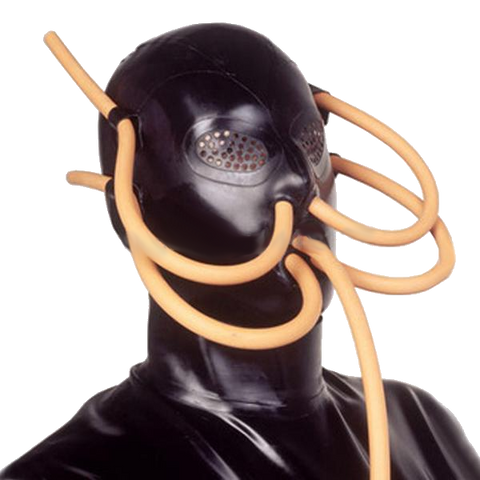 Tempting Villain Mask with Tubes