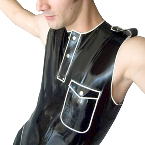 Sexy Gentleman Latex T-shirt
