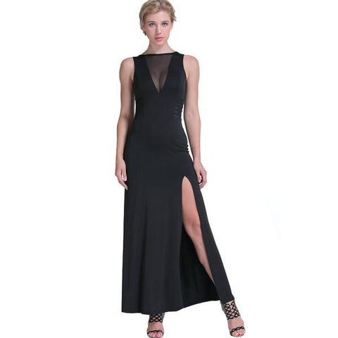 Wicked Chic Long Evening Gown
