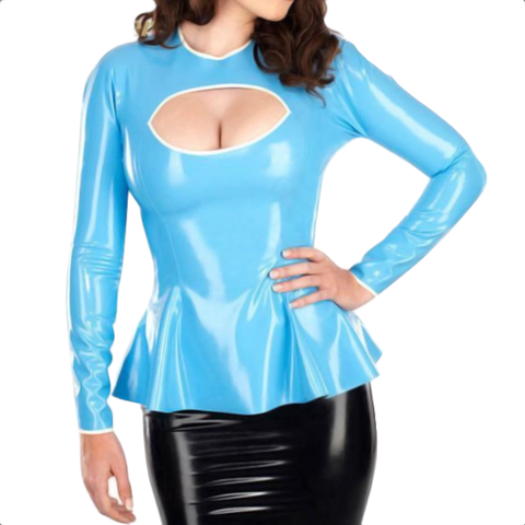 Babe of Desire Latex Top