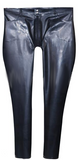 Latex Military Pants with Penis Sheath
