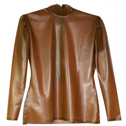 Lady Smooth Latex  blouse