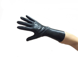 Daddy in Black Latex Gloves
