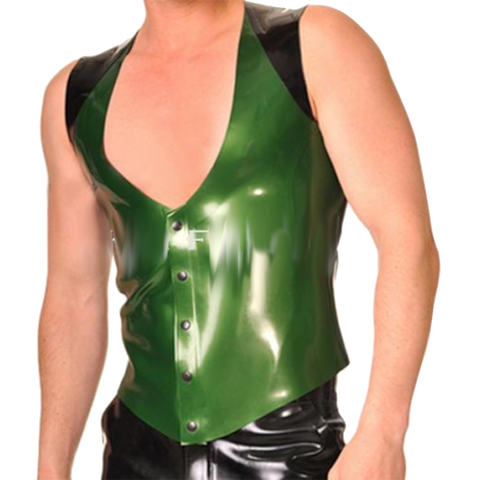 Lush Polished Latex Vest